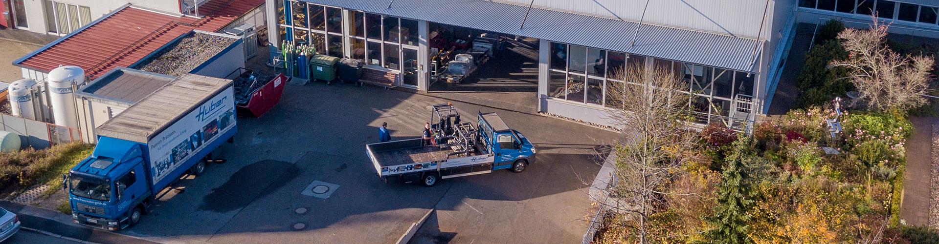 Stellenanzeige CNC-Fräser Huber GmbH